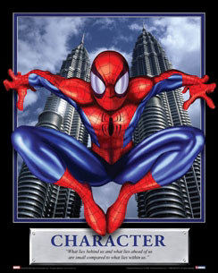 Character - Spider-man Motivational Poster