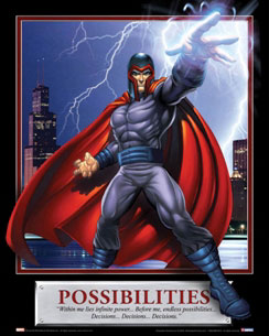 Possibilities Magneto Motivational Poster