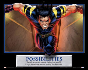 Possibilities Wolverine Motivational Poster