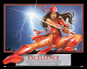 Excellence-Elektra-Motivational-Poster