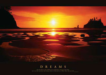 Dreams Motivational Poster