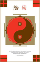 Yin Yang Interaction Poster