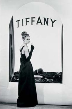 Audrey Hepburn Tiffany's Window Poster