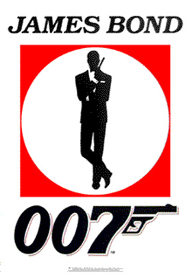 James Bond 007 Logo Poster