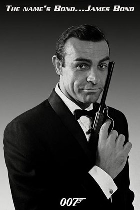 Sean Connery James Bond Click Add to Cart to order