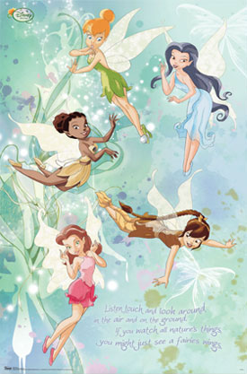 Disney Fairies Poster