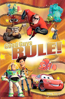 Disney Good Guys Rule Poster