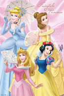 Disney Fairytale Princesses Poster