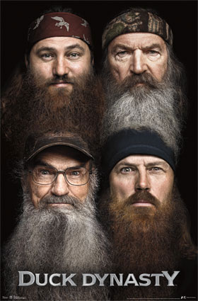 Duck Dynasty - Beards Poster