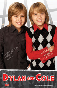 Dylan and Cole Poster