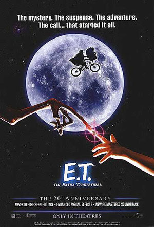 ET the Extra Terrestrial Poster