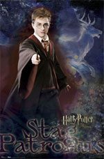 Harry Potter Stag Patronus Poster