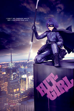 Kick Ass Hit Girl Poster
