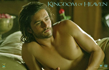 Orlando Bloom Kingdom of Heaven Poster