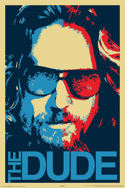 The-Big-Lebowski-The-Dude-Poster