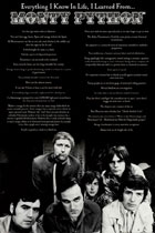 Everything I Know In Life, I Learned From Monty Python Poster