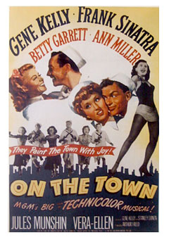 On The Town Poster