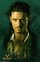 Pirates of the Caribbean Orlando Bloom Poster