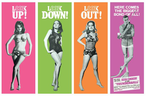 James Bond Thunderball Poster