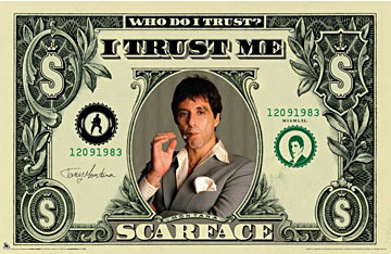 Scarface I Trust Me Poster