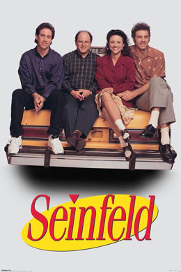 Seinfeld Taxi Poster