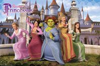 Shrek Princesses Poster