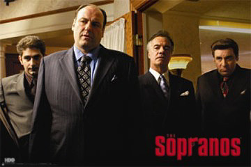 The Sopranos Wiseguys Poster