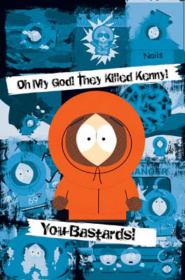 South Park Kenny Poster