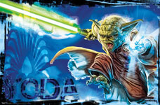 Yoda Unleashed Poster