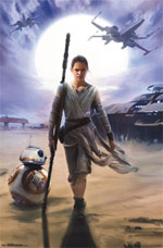 The Force Awakens - Rey Poster