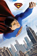 Superman Action Poster