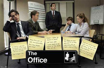 The office posters Michael Scott Pebbletec Glazing Wire Hanger Ships By Ups Ground Framed The Office Poster price Includes Poster Item Fbr13k34 In Stock Yes Size 22 34 In Amazoncom Frame This Poster