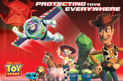 Toy Story Cast Poster