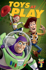 Toy Story 3 Toys At Play Poster