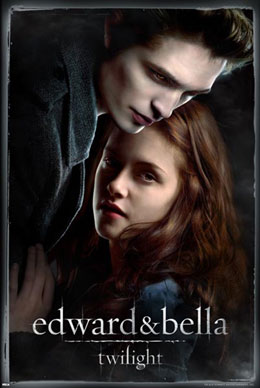 Twilight Edward and Bella Poster