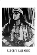 Rudolph Valentino The Sheik Poster