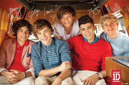 1 Direction Poster
