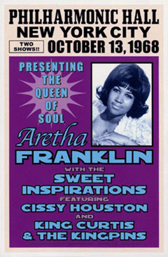 Aretha-Franklin-1968-Reproduction-Concert-Poster