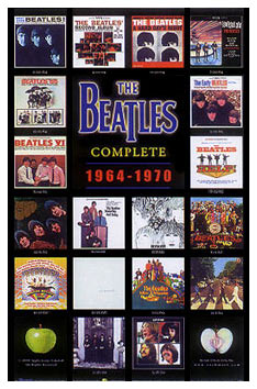 The Beatles Album Covers Poster