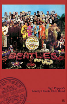 Sgt Peppers Lonely Hearts Club Band Poster