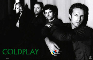 Coldplay X and Y Poster