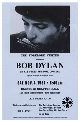 Bob-Dylan-1961-Reproduction-Concert-Poster