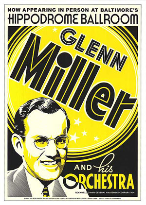 Glen Miller and his Orchestra Concert Poster