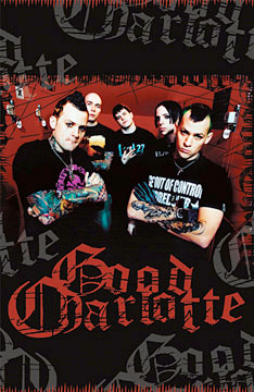 Good Charlotte Tattoo Poster
