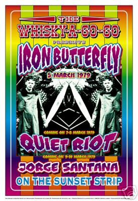 Iron Butterfly Poster Click Add to Cart to order.