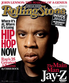 Jay Z Rolling Stone Poster