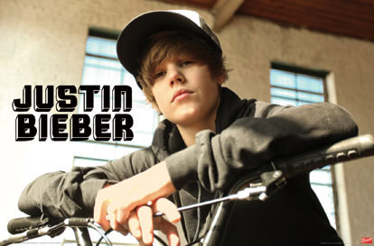Poster of Justin Bieber