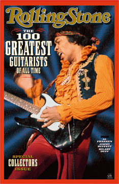 Jimi Hendrix Rolling Stone Cover Poster