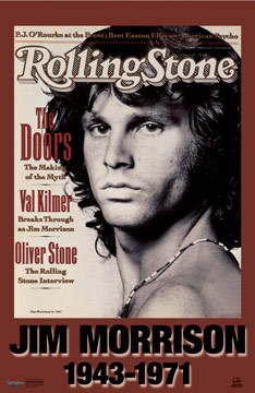 Jim Morrison Rolling Stone Poster