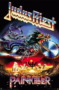 Judas Priest Painkiller poster